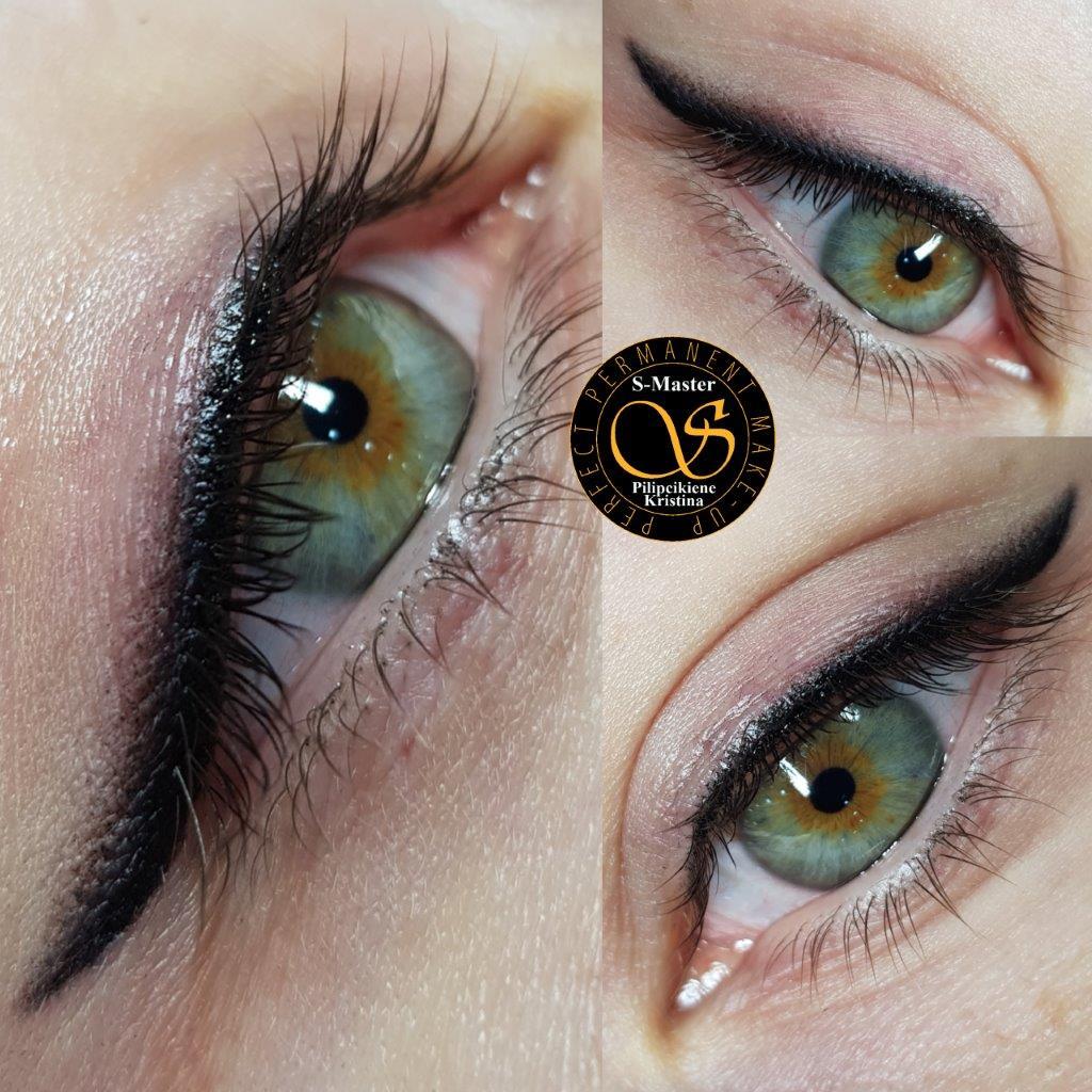Soft liner eyes